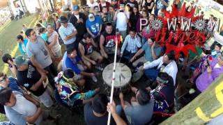 Whitefish Jrs Sing a Wicked Intertribal @ Sturgeon Lake Pow wow 2016