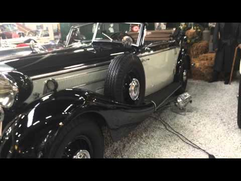 Horch 853 A sport cabriolet