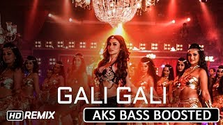Gambar cover Gali Gali (Remix) ¦ Neha Kakkar ¦ Mouni Roy ¦ KGF    AKS BASS BOOSTED