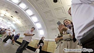 Пикап #5 || Знакомство с девушкой в метро || Яна Библиотека Ленина
