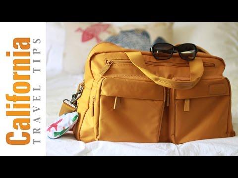 Weekender Bag - Packing Light for the Weekend!