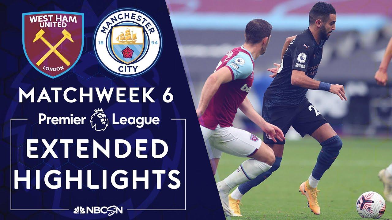 Download West Ham v. Manchester City | PREMIER LEAGUE HIGHLIGHTS | 10/24/2020 | NBC Sports