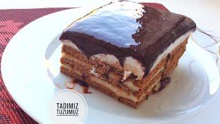 Bisküvili Ağlayan Pasta Tarifi | Tadimiztuzumuz