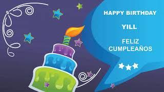 Yill - Card Tarjeta_1014 - Happy Birthday
