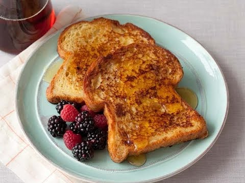 Alton Brown Makes French Toast | Food Network - YouTube