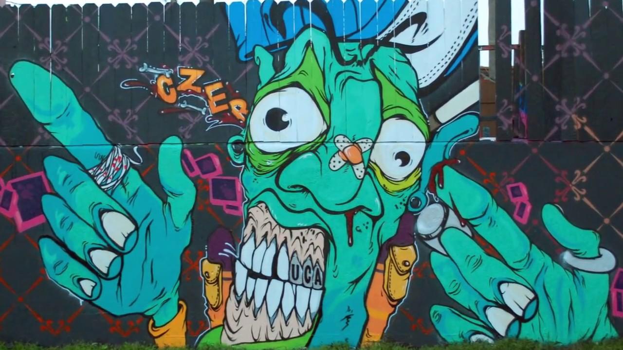 Czer uca los angeles graffiti artist graff inc