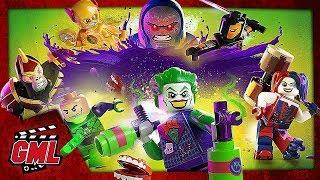 LEGO DC SUPER VILAINS - FILM JEU COMPLET FRANCAIS