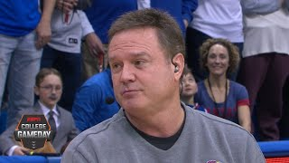 Kansas basketball will be better after brawl with Kansas State - Bill Self | College GameDay