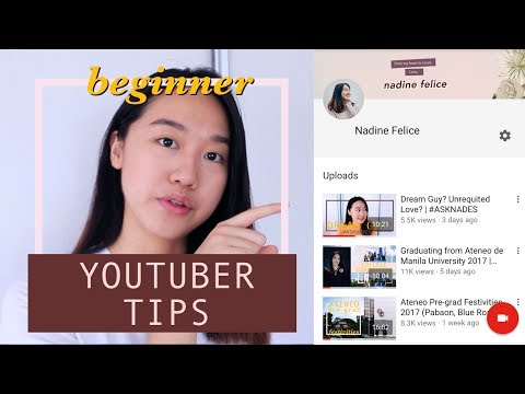 How to Start a Youtube Channel (Philippines)   Nadine Felice