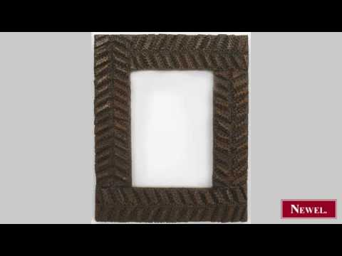 Antique 2 Rustic American Tramp Art small picture frames - YouTube