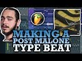 Making a POST MALONE Type Beat CHILL TRAP (FL Studio)