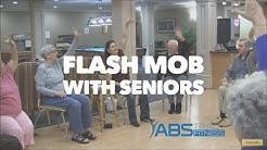 Flash mob seniors, Senior Exercise Class, chair exercise, exercise choreography older adults