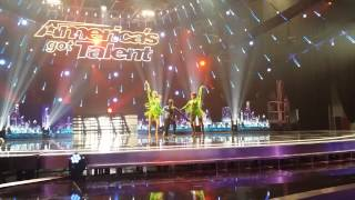 SEMENEYA: Salsa Dance Trio - America's Got Talent
