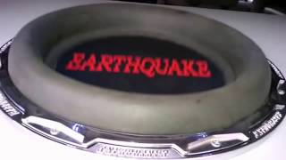 Car Audio Earthquake HoleeS 15 Subwoofer SPL Bass Sound System