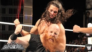 Erick Rowan vs. Adam Rose: WWE Superstars, February 27, 2015