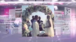 RU TV о свадьбе Ханны и Пашу в Италии (сюжет от 6 июля 2015)