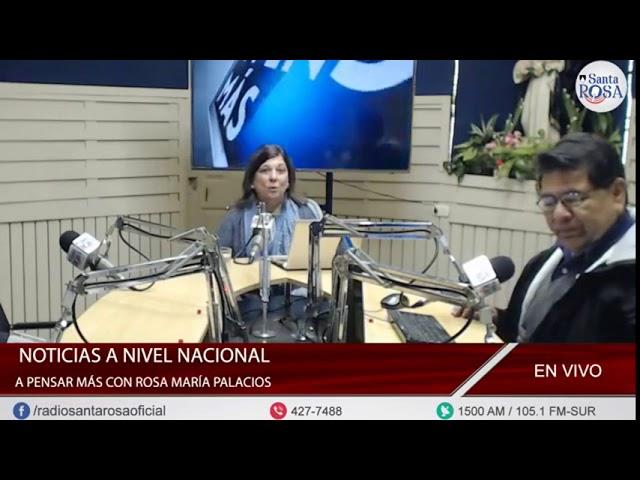 A PENSAR MÁS CON ROSA MARÍA PALACIOS 24-09-2018