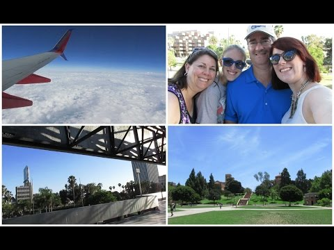 LA Vlog #1~ Traveling, UCLA, The Grove, La Brea Tar Pits, Griffith Observatory