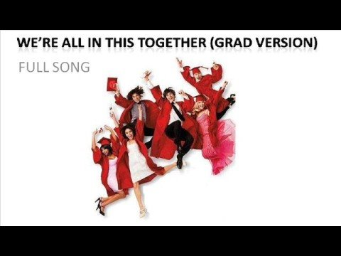 We re all in this together graduation mix full song youtube