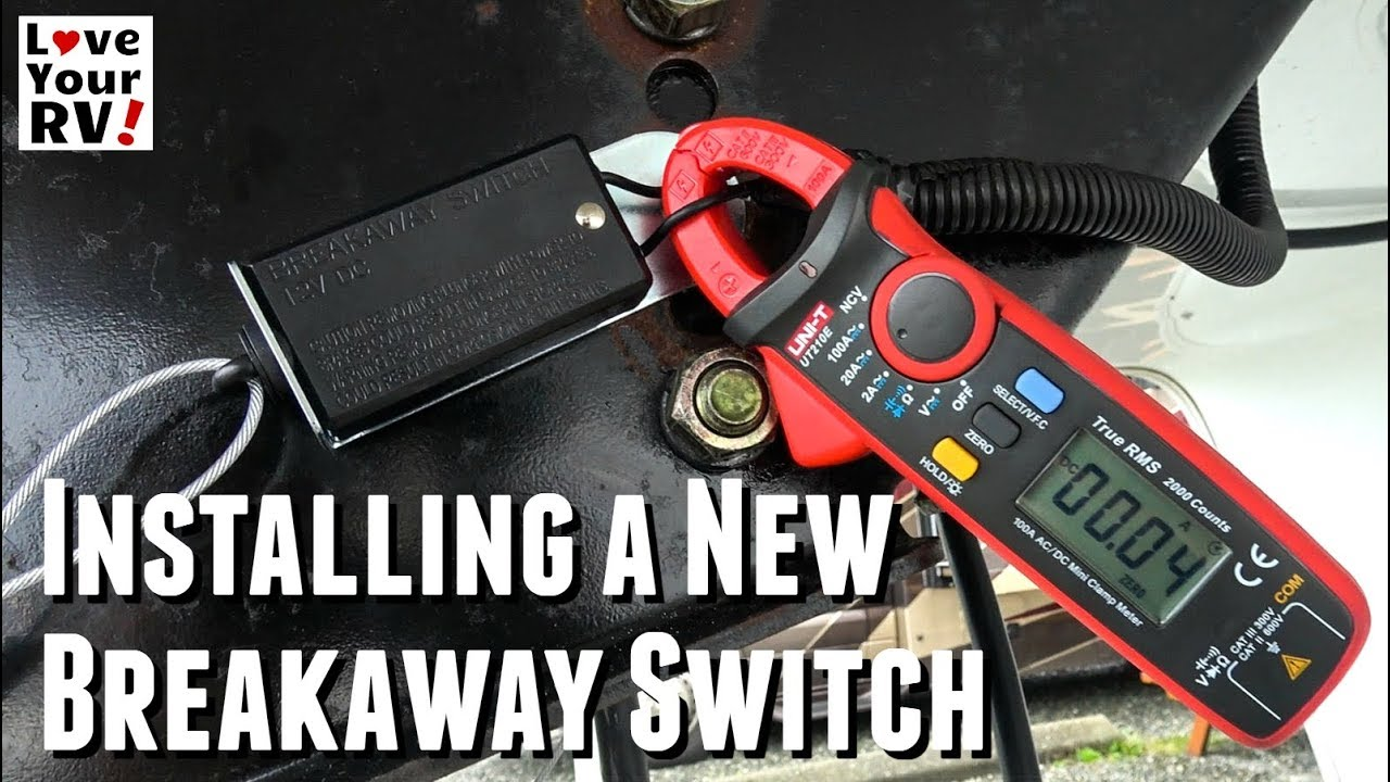 Trailer Breakaway Switch Install And Test