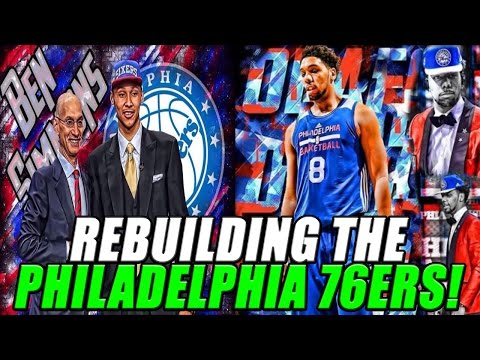 NBA 2K17 MyLEAGUE: Rebuilding the Philadelphia 76ers!
