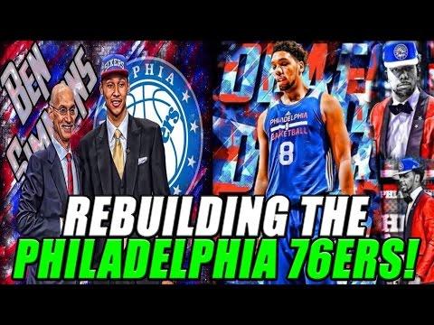 NBA 2K17 MyLEAGUE: Rebuilding the Philadelphia 76ers!