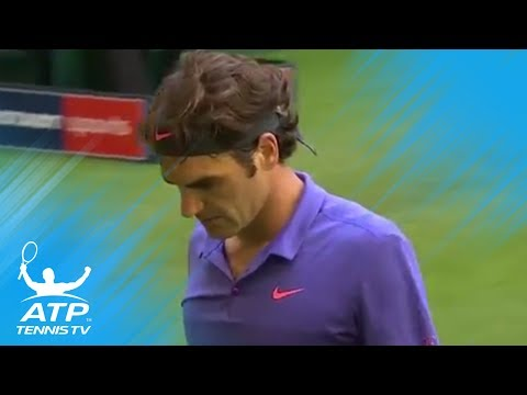 Top Roger Federer grass-court points in Halle