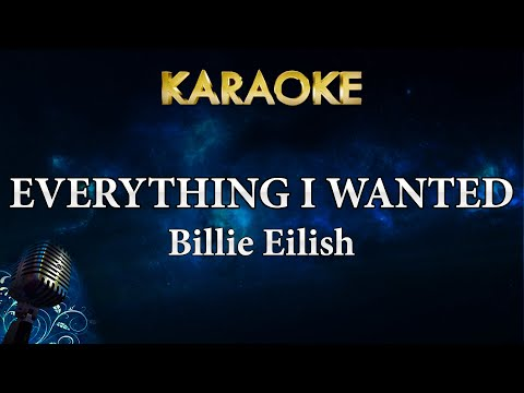 Billie Eilish - Everything I Wanted (Karaoke Instrumental)