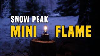Snow Peak Mini Fląme Camping Laterne/Kerze - Testbericht Gear Review