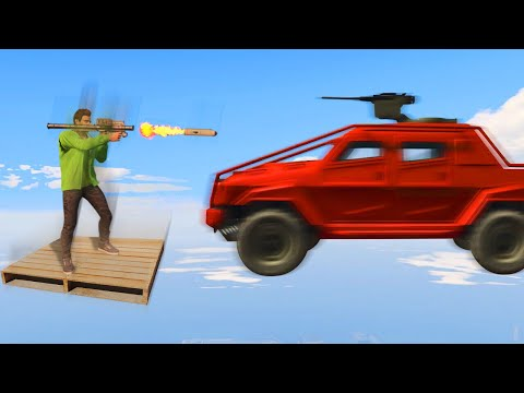 MILE HIGH IMPOSSIBLE RPG's vs. INSURGENTS! (GTA 5 Funny Moments)