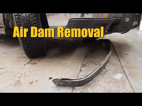 Air Dam Removal (Free Ground Clearance MOD) | AnthonyJ350