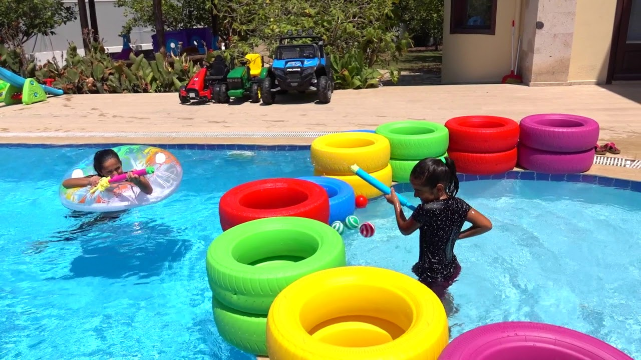 Pool fun play