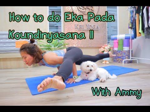 How to do Eka Pada Koundinyasana II or Flying Splits?