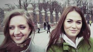 """Девушки из Хабаровска и Петербурга рекомендуют уроки жонглирования булыжниками """"Пятнице"""""""