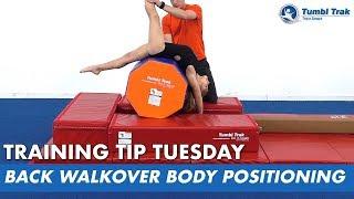 Back Walkover Body Positioning