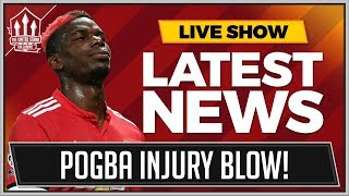 Paul POGBA Out of Manchester United vs Newcastle! MAN UTD News