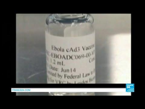 Ebola : un vaccin contre le virus testé par l'institut américain des maladies infectieuses