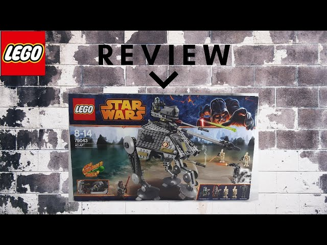 Lego Star Wars 75043 AT-AP Walker - Review, Speed Build