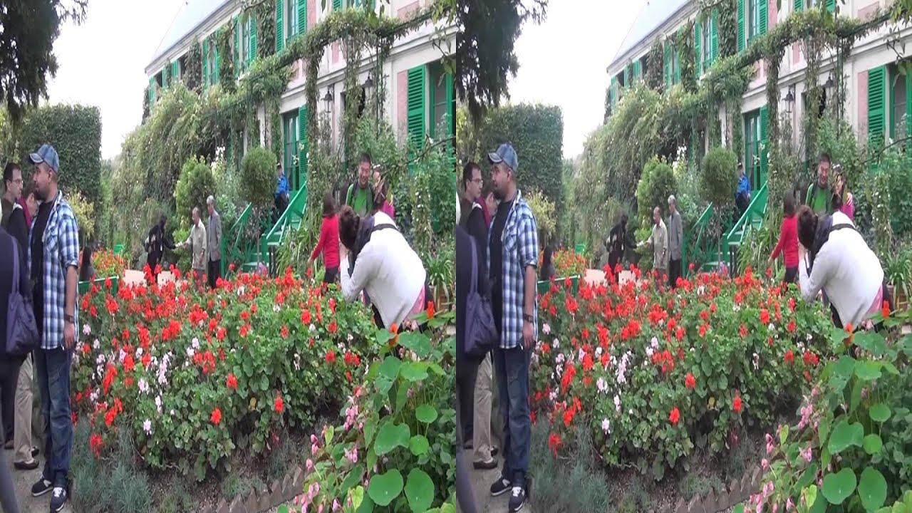 2013 Giverny Maison et Jardin de Claude Monet HD3D 1080p - YouTube