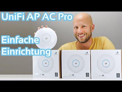 Ubiquiti UniFi AP AC Pro einrichten | iDomiX