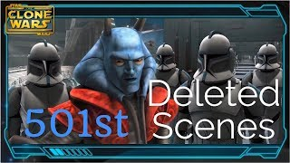 501st DELETED SCENES (Star Wars: The Clone Wars Season 2)