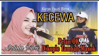 KECEWA (Fauzi Bima)VOC. Arlida Putri New Pallapa Latihan- lagu Baru Pelan Enak, Dikoplo Malah goyang