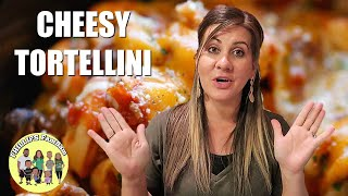 COOK WITH ME | CROCKPOT CHEESY TORTELLINI PASTA RECIPE | PHILLIPS FamBam Cook with Me