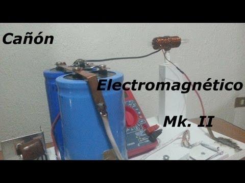 Cañón Electromagnético Mk. II (Coilgun)