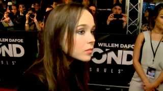 Exclusive Interview: Ellen Page on red carpet at Beyond Two Souls premiere