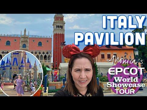 Italy Pavilion - Monica's Epcot World Showcase Tour