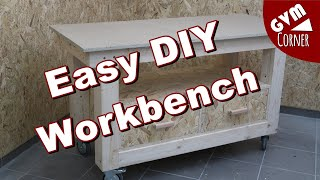 Einfache und günstige Werĸbank selber bauen / Easy DIY Workbench