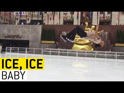 Ice Skating Shenanigans || JukinVideo