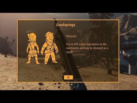 Fallout 4: New Vegas Gameplay