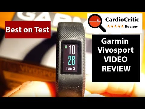 Garmin Vivosport Review - the best GPS featured fitness tracker of 2018